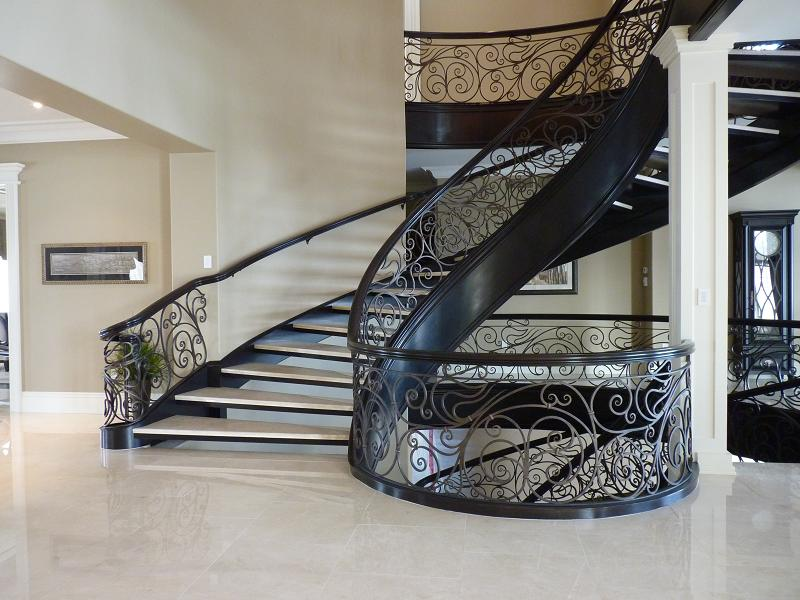 Curved Stairs   Metal Pickets. Metalcurved Metalcurved Metalcurved  Metalcurved ...